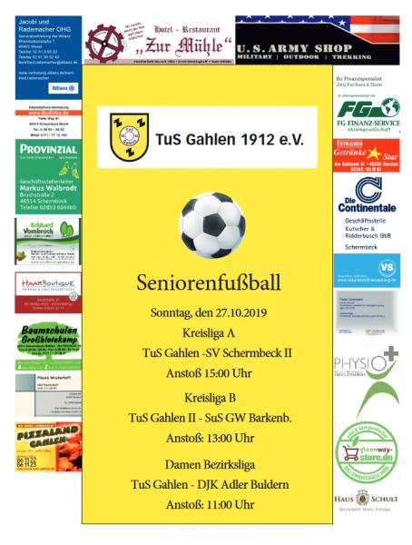 Logo Spieltag-Plakat