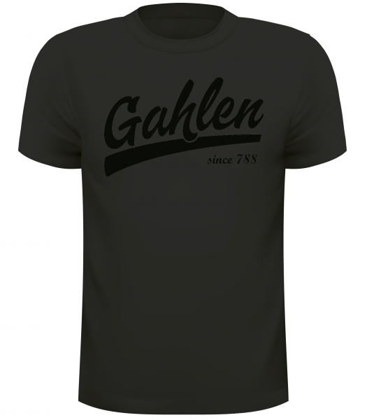 "Kinder T-Shirt ""Black Edition"" Gahlen since 788"
