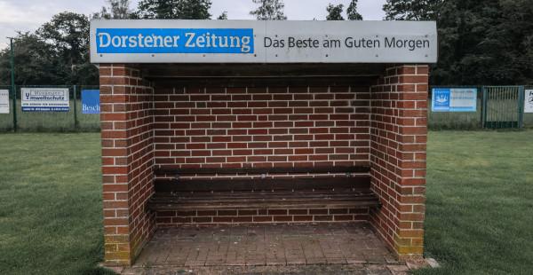 Werbeschild Coaching Zone Rasenplatz